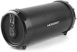 Microdigit Bluetooh Portable Drum Speakers, Black, M0053RT