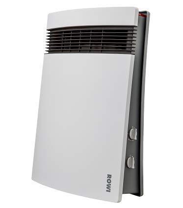 ROWI HBS 1800/3/2 Premium Fan Electric Space Heater Innen Grau Weiß 1800 W - Heizlüfter (Fan Electric Space Heater, 1,6 m, IP21, TUV, GS, CE, Innenbereich, Grau, Weiß)
