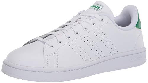 adidas Advantage Tenis para hombre, Blanco (Blanco), 36.5 EU