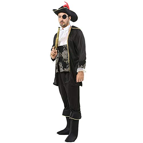 LXJ Halloween, Halloween Party Props, Decoraties, Festival Prestaties Kostuums Kostuums Piraat Kostuums Volwassen Haak Kapitein Kostuums