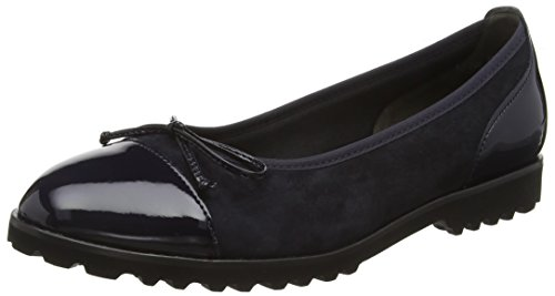 Gabor Shoes Gabor Shoes 53.100 Damen Geschlossene Ballerinas, Blau (pazifik/ocean 16), 37 EU (4 Damen UK)