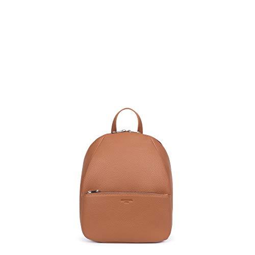 Hexagona MADRID Backpack - Brown - L:25 x h:29.5 x P:13 cm