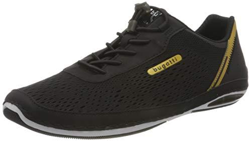 bugatti Herren 321A3E036900 Sneaker, Schwarz, 47 EU