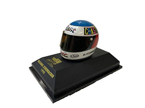 MS Collection Michael Schumacher Replika Helm F3 1990, Minichamps 1:8