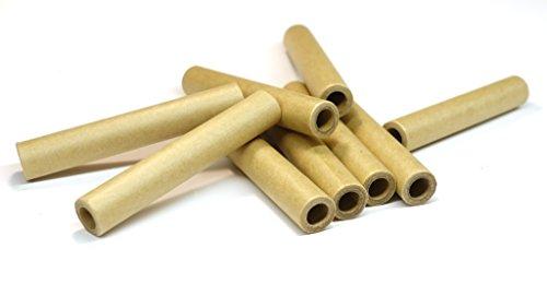 9x13x90mm Papphülse, Braun, parallel gewickelt, extrem fest, pyro paper tubes, Papierhülse, cardboard tubes, verschiedene Stückzahlen verfügbar (100)