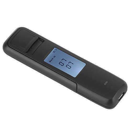 Detector de Bebidas LCD Alcoholímetro a Prueba de Polvo Probador de Vino de conducción de Peso Ligero Analizador de Borracho para automóvil para automóvil(Black, Pisa Leaning Tower Type)