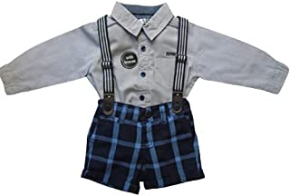 K-19 Baby Boys Clothes Sets | Shirts + Suspenders Pants Toddler Boy Gentleman Outfits Suits
