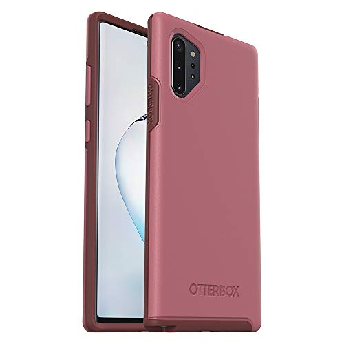 OtterBox Symmetry Series - Back cover for cell phone - polycarbonate, synthetic rubber - beguiled rose pink - for Samsung Galaxy Note10+, Note10+ 5G