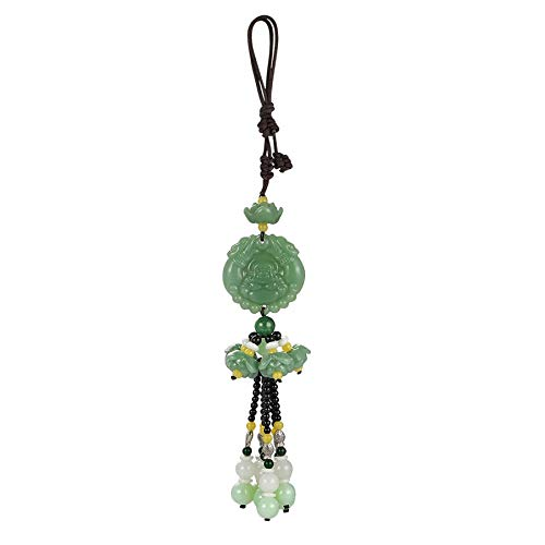 Car Pendant Jade Gourd guan Yin Maitreya Auto Interior Rearview Mirror Decoration Hanging Ornament Accessories