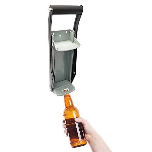 Ouvre-bouteille ouvre-bouteille bouteille de fer broyage outil de recyclage accessoire de recyclage 16oz Beer peut concasseur mural mur monté main poussoir soda cans bouteille for cuisine restaurant c