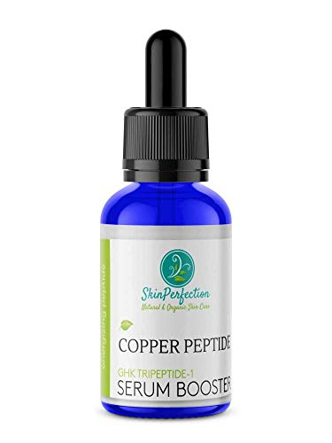 Copper Peptide BEST Anti-Aging Serum Booster DIY Make Your Own Face Cream or Hair Tonic with GHK GHK-Cu Tripeptide-1 Anti Wrinkle Collagen Boost Youthful-looking Regenerate Mature Skin Perfection