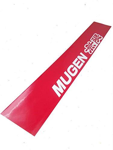 B236 Mugen Power Emblem Badge Etiqueta engomada del coche Etiqueta de etiqueta engomada del coche del lado del metal