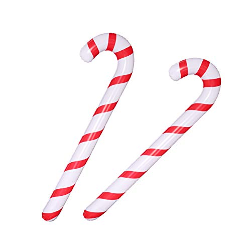 GIANT INFLATABLE CANDY CANE STICK BLOW UP TOY BOY GIRL CHRISTMAS STOCKING FILLER
