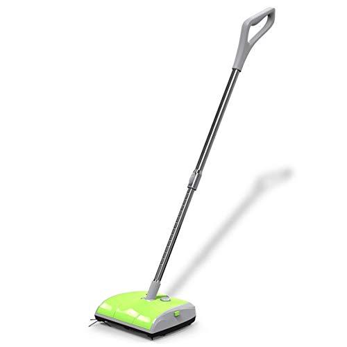 ALYHYB Aspirador Escoba eléctrica de Dos Ruedas del Limpiador de Barrido Mano Fuerte Sweeper escobillas de vehículos de alfombras Aspirador (Color: Rojo) (Color: Rojo) huangcui (Color : Green)