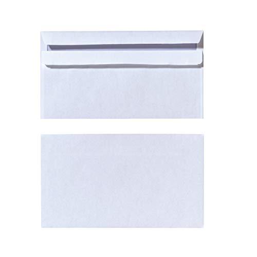 Herlitz 11285483 Briefumschlag Din Lang, selbstklebend ohne Fenster, 1000 Stück