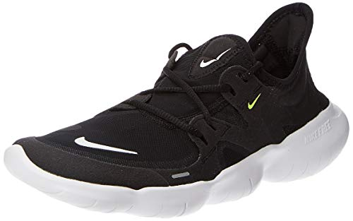 Nike Women's Free RN 5.0 Running Shoe Black/White/Anthracite/Volt Size 9 M US
