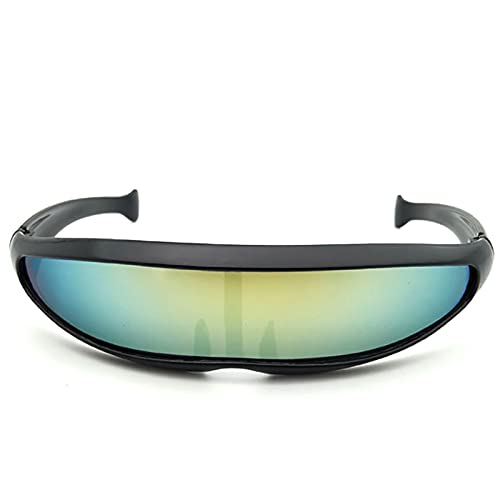 HGoods Durable Cycling Sunglasses Lens Sunglasses Glasses Windproof Goggles Space Robots Eyewear Outdoor (Color : 05)