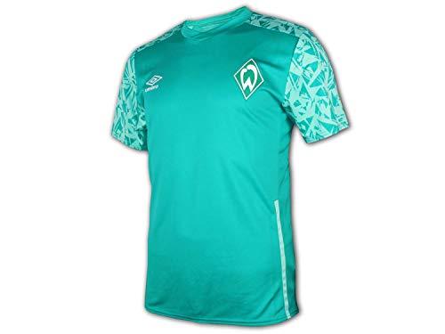 UMBRO Werder Bremen Training Jersey 20 21 SVW Fan Shirt Fußball Trikot, Größe:XL