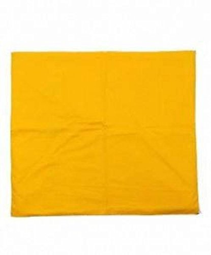 Panotophia Meditationsmatte Yoga Matte gelb 70 x 70 x 5 cm