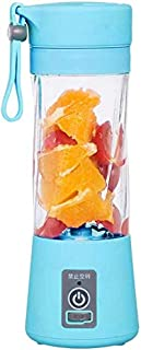 ZH~K Portable Presse-Agrumes électriques 380ml électrique Cup Juicer Fruit Smoothie Maker USB Blender Fruit extracteur Fac...