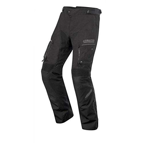 Alpinestars Valparaiso 2 Drystar Motorradhose, Farbe schwarz-grau, Größe L