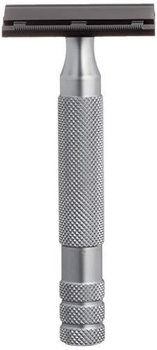 IKON SAFETY RAZORS B1 OSS - Acido di sicurezza in acciaio INOX, 100 g