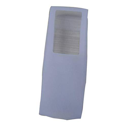 sunnymi Schutzhülle Für Fernbedienung ❤️TV Fernbedienung Set Wasserdicht Staub Silikon Schutzhülle Case Stylish (Klar, 12 * 4.5 * 2cm)