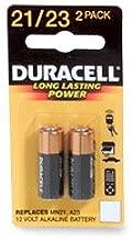 Duracell MN21B2PK Watch/Electronic/Keyless Entry Battery, 12 Volt Alkaline
