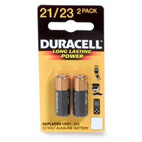 Duracell MN21B2PK Watch/Electronic/Keyless Entry Battery, 12 Volt Alkaline