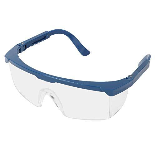 SolUptanisu Schutzbrille Arbeitsschutzbrille Schlagfeste Schutzbrille Komfortable und leichte Seitenschutz Laborbrille Staubdicht Schlagfest UV-Schutz Brille Zum Arbeiten, Surfen, Angeln