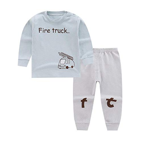 Kinder Winter Herbst Kleidung Mädchen Cartoon Casual Sport T-Shirt Hose Infant Outfit Kinder Kleidung Anzug Trainingsanzüge Gr. 7 Jahre, blau