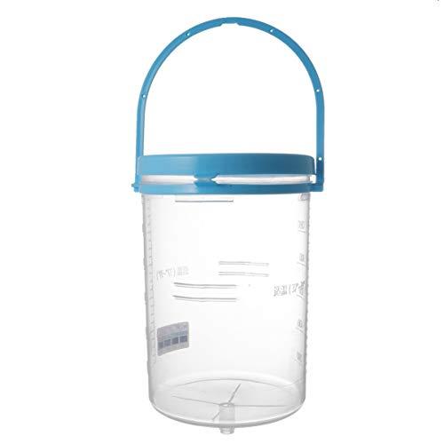 HEALLILY Einlaufset 1200ml Einlaufbecher für Darmeinlauf Irrigator zur Darmreinigung in Vollausstattung Einlauf Klistier Set Einlaufgerät sicher hygienisch