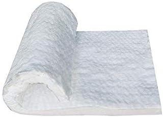"Simond Store Ceramic Fiber Insulation Blanket,1"" Thick x 12"" x 24"" 2600F #8 Fireproof Insulation for Kilns,Forge,Furnace"