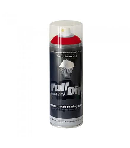 Vernice removibile Full Dip spray 400ml rosso opaco