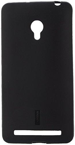 CASEOUSTM Back Case Cover Soft Matte Finish for Asus Zenfone 6 (Black)