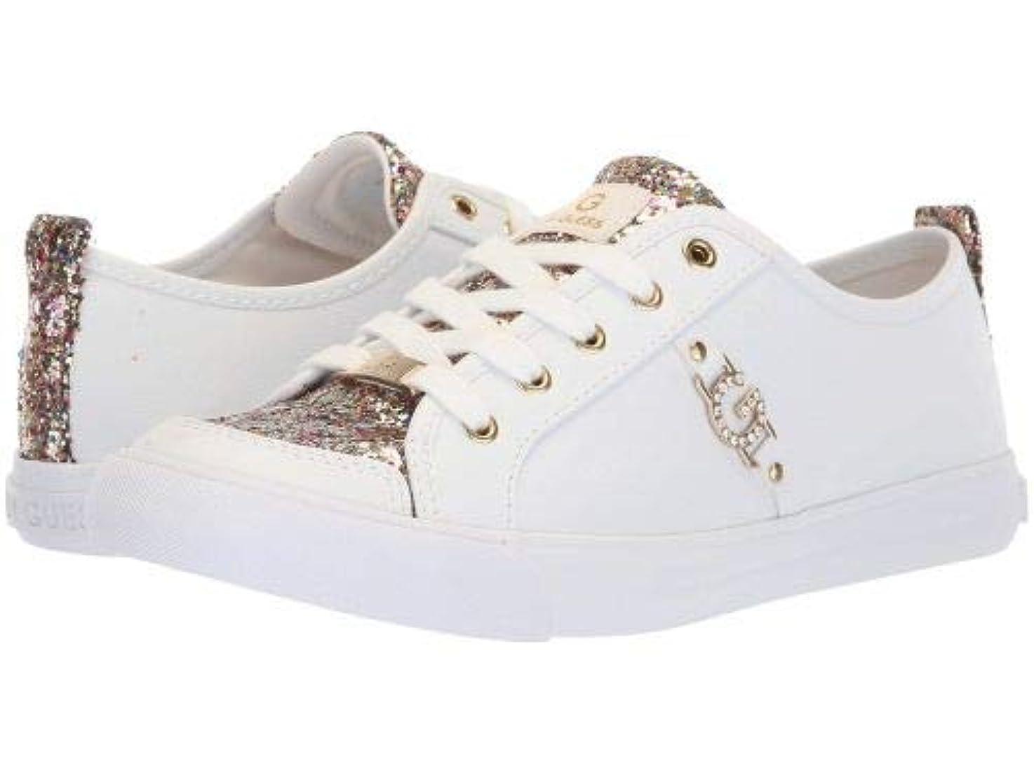 生産的インチ間接的[ジーバイゲス] レディース 女性用 シューズ 靴 スニーカー 運動靴 Banx3 - White/Rainbow [並行輸入品]