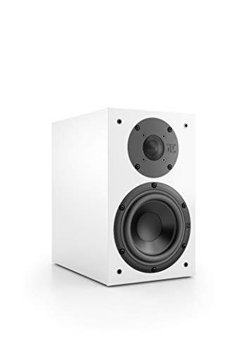 Nubert nuBox 313 Regallautsprecher | Lautsprecher für Stereo & Musikgenuss | Heimkino & HiFi Qualität auf hohem Niveau | Passive Regalbox mit 2 Wege Technik | Kompaktlautsprecher Weiß | 1 Stück