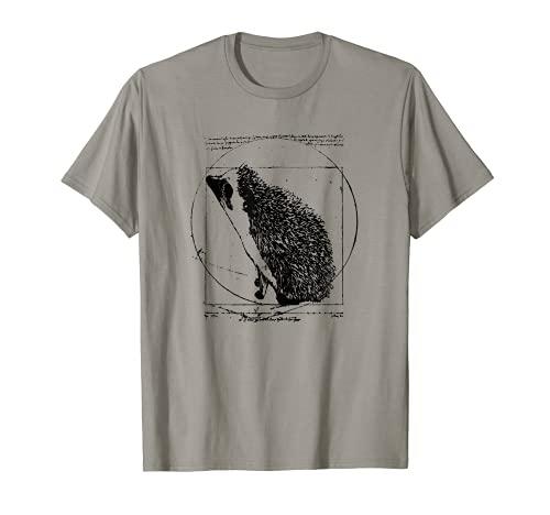 Igel Shirt: Vitruvianischer Igel ein Vintage Classic