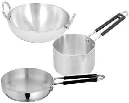 FASNO Aluminum Induction Base cookware Set, Set of 3