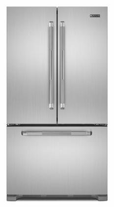 Jenn-Air Counter Depth Stainless Steel French Door Bottom Freezer Refrigerator