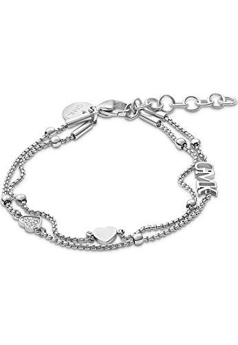 Guido Maria Kretschmer by CHRIST GMK Collection Damen-Armband Valentine Collection Edelstahl 8 Zirkonia One Size Silber 32012143