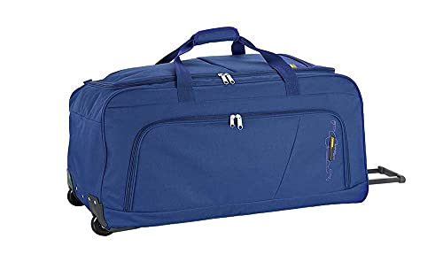 Gabol - Week | Bolsa de Viaje con Ruedas Extra Grande de Tela de 83 x 37 x 36 cm con Capacidad para 110 L de Color Azul