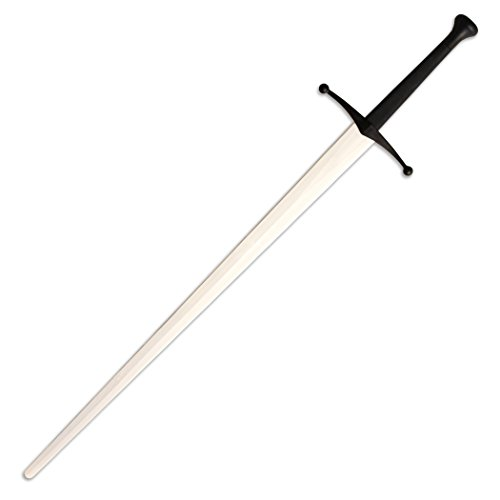 Red Dragon Armoury Synthetic Sparring Longsword - White Blade with Black Hilt