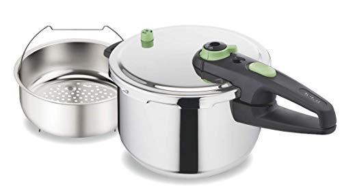Tefal P2050745 - Olla a presión Sensor, 6 L, plata