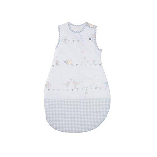 roba Schlafsack, 90cm, Babyschlafsack ganzjahres/ganzjährig, aus atmungsaktiver Baumwolle, Baby- und Kleinkindschlafsack unisex, Kollektion 'Wiesenglück'