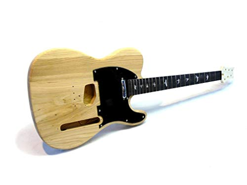 Guitarra Eléctrica/Guitar DIY Kit ML-Factory® MLT Sky Bird Ash with Bird Inlays