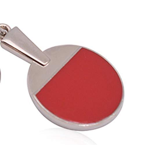 #N/A Growrak - Llavero creativo para raqueta de tenis de mesa