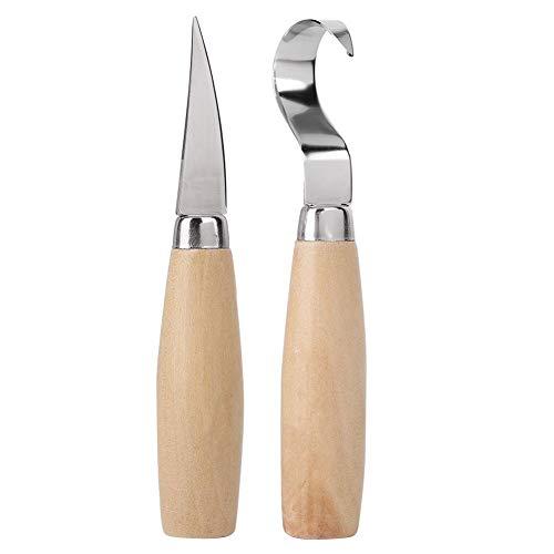 Houtsnijgereedschap Set Lepel Maken Snijgereedschap Haak Haak Mes Set Beginner Houtbewerking Craft Basic Set Professionele (hout snijwerk Tool Bag)