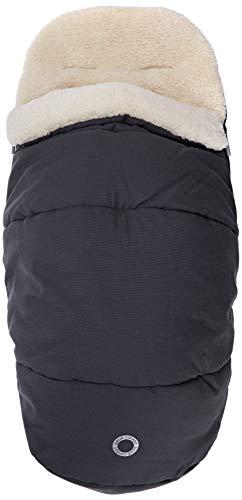 Bebe Confort, gevoerde slaapzak, bekleding van fleece, voetenzak voor kinderwagens en stoelverkleiner 89 gr Essential Graphite