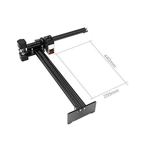 NEJE Master-2s 30 W Plus Lasergravierer Schneidemaschine Professionelle Lasergravur maschine Zoomobjektiv CNC-Laserschneiderdruck Carving Arduino Große Arbeitsgröße 255 x 440 mm (Modul 7,5 W)